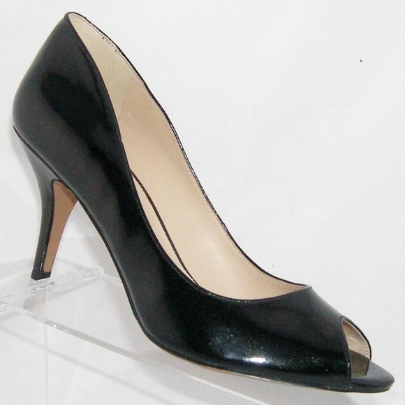 36d90aa4a8 Nine West 'Orissa' black peep toe man made heel 6M.  M_5ab4299e9a9455568dde8ea9